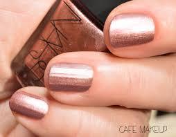 nars metallic nail polish milos amarapura and pastorale café