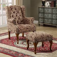 Single Chairs For Living Room Living Room Living Room Chairs With Ottoman Ottoman Living Room