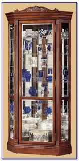 Oak Curio Cabinets Curio Cabinet Solid Wood Curio Cabinet Rare Photos Ideas Pulaski