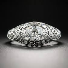 Art Deco Wedding Rings by Art Deco Jewelry Art Deco Engagement Rings And Bracelets Lang