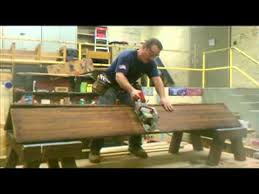 Church Benches Used Cabaret Cutting A Church Pew In Half Youtube