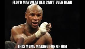 Floyd Mayweather Meme - floyd mayweather y conor mcgregor los memes de la pelea del siglo