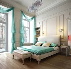 bedroom classy decorating ideas with light blue pattern sheets in