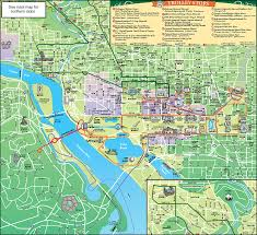 Scenic Route Map by 1 Day Washington Dc Old Town Trolley Tour Taketours
