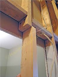 how to repair a 2x4 load bearing wall stud install the splice stud