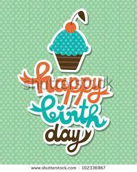 happy birthday cupcake stock images royalty free images u0026 vectors