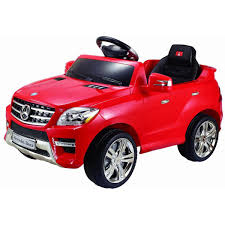 gym equipment kids baby ride on toy car mercedes benz ml350 6v
