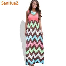 summer dress sanhuaz 2017 high quality brand women summer dress striped print