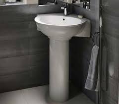 Pedestal Bathroom Sink by Barclay Porcelain Regular And Corner Pedestal Sinks