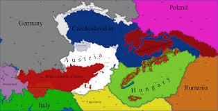 Map Writer The Austro Hungarian Civil Wars Prt 2 By Spiritswriter123 On