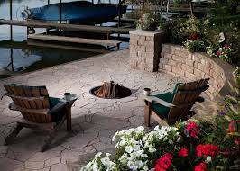 gas fire pit ring in ground gas fire pit ideas
