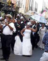 second line wedding historic new orleans fete complete with a second line brass band