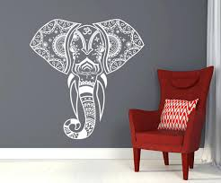Elephant Room Decor Do It Yourself Wall Decals Best Elephant Wall Art Ideas On Tribal