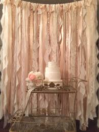wedding backdrop gold chagne and gold ribbon backdrop photo booth backdrop gold