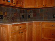 Slate Backsplash Ideas For The by Slate Kitchen Floors Pros Cons Slate Tile Backsplash Pictures