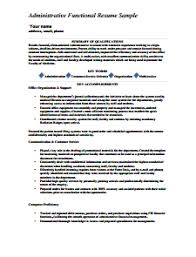 executive administrative assistant resume example administrative