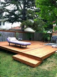 Backyard Small Deck Ideas Full Size Of Lawn Outdoor Backyard Deck Design With Pallet Wooden