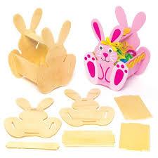 bunny basket wooden bunny basket kits bakerross