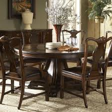 Round Dining Sets Traditional Round Dining Table With Inlay By Fine Furniture Design