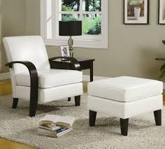 White Chairs For Living Room Living Room Accent Chairs