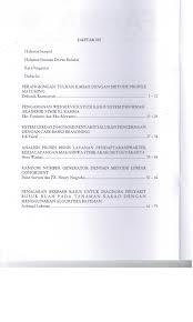 daftar isi analisis proses bisnis layanan pendaftaran praktek kerja lapangan