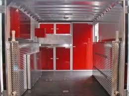 aluminum trailer closet storage cabinets moduline cabinets