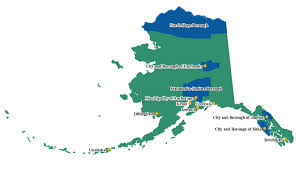 Alaska City Map by Clgs