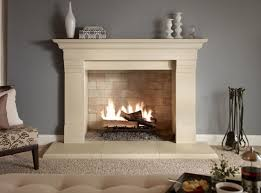 Interior Home Decor Decorating Interior Built In Fireplace Great Lakes Stone