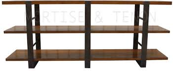 Wooden Bookshelf Pictures by Hand Crafted Detroit Steel And Wood Bookcase By Mortise U0026 Tenon