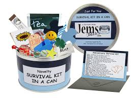 gifts for anniversary anniversary survival kit in a can humorous novelty gift