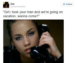 Alicia Keys Meme - here s what happened when alicia keys dropped her heartfelt