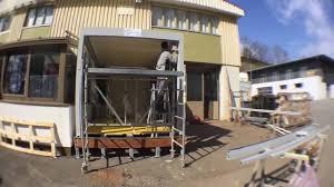 Construire Jardin D Hiver Car Construction Aluminium Sa à Remaufens Fribourg Pro Youtube