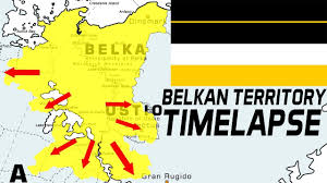 the history of the belkan territory timelapse from 1987 to 2010