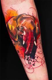 cool geometric fish tattoo tattoomagz