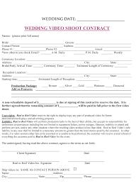 wedding planner contracts wedding planner printable wedding planner contract