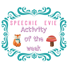 speech bubble activity speechie evie activity of the week 3 6 17