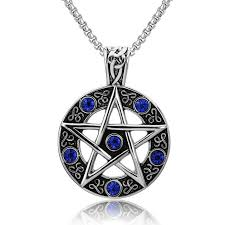 gothic jewelry necklace images Amgjdk magic pentagram star pendant necklace pentacle gothic jpg