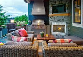 Outdoor Fireplace Patio Outdoor Covered Patio Ideas Patio Traditional With Roof Extension