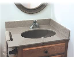 bathroom vanity tops syn mar products pertaining to with top sinks