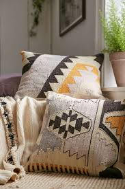 beautiful pillows for sofas arya kilim woven pillow arya urban outfitters and pillows