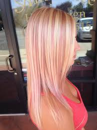 pink highlighted hair over 50 blonde with pink highlights hair styles pinterest pink
