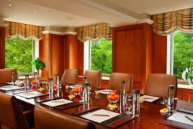 Dining Room Tables Nyc by Meeting Rooms In Midtown Manhattan The Ritz Carlton New York