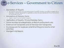 way bills online computerization project mp ctd ppt download