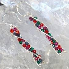 chemist earrings silver earrings stonewyre