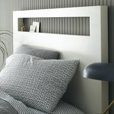 great white wooden headboard with best 25 white wooden headboard