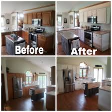 how to paint golden oak kitchen cabinets pro cabinet finishes posts