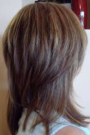 back view of medium styles haircuts back view women medium haircut of hairstyles layers back