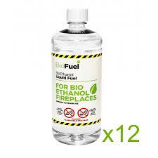 12l bio ethanol fuel for fireplaces ekofuel