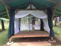 tent platform tent platform with bamboo structure by harvey38 lumberjocks com