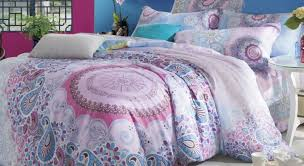 Bright Duvet Cover Boho Chic Bedding Sets With More Beautiful Bohemian Queen Lelva